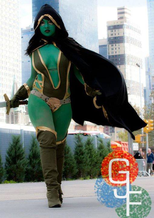 Soni Aralynn is Gamora