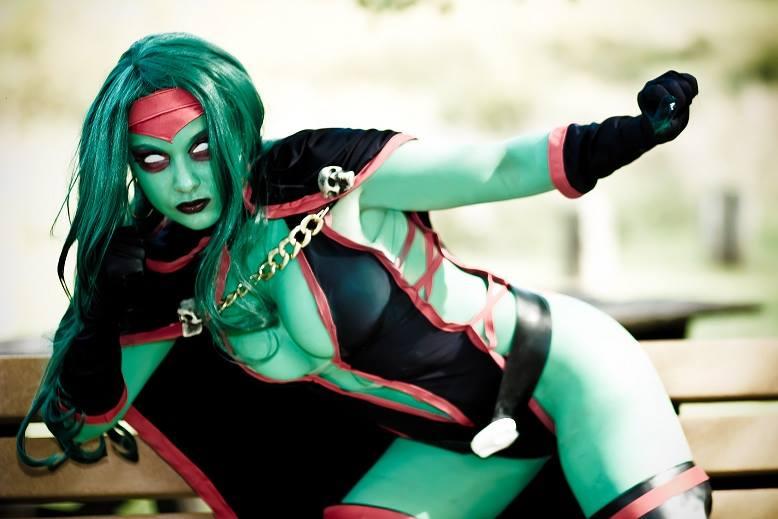 Soni Aralynn  is Gamora | Photo by:  Photos & Designs by Piera
