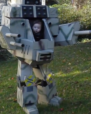 how to make a mech costume