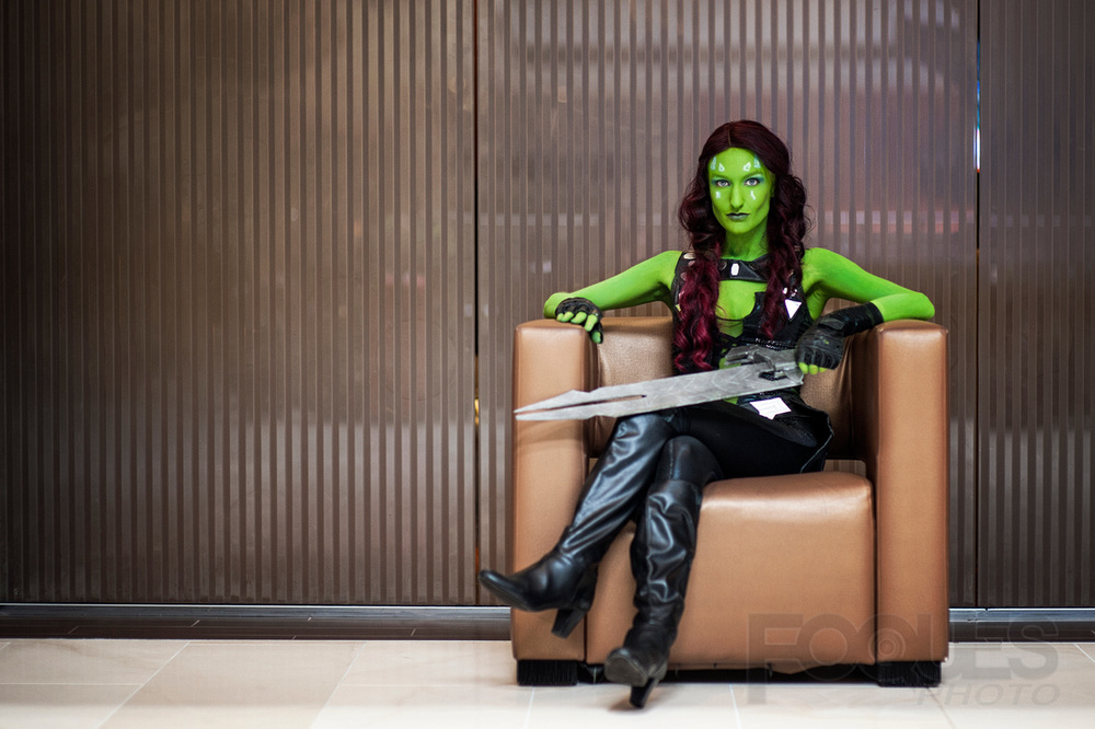 Moe Hunt   is Gamora |  Photo by:  Foques Photo