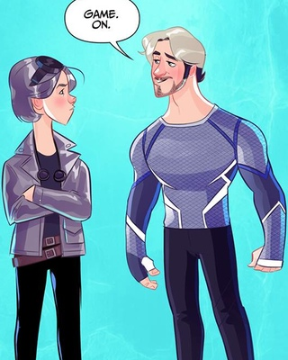 quicksilver avengers 2 and days of future past