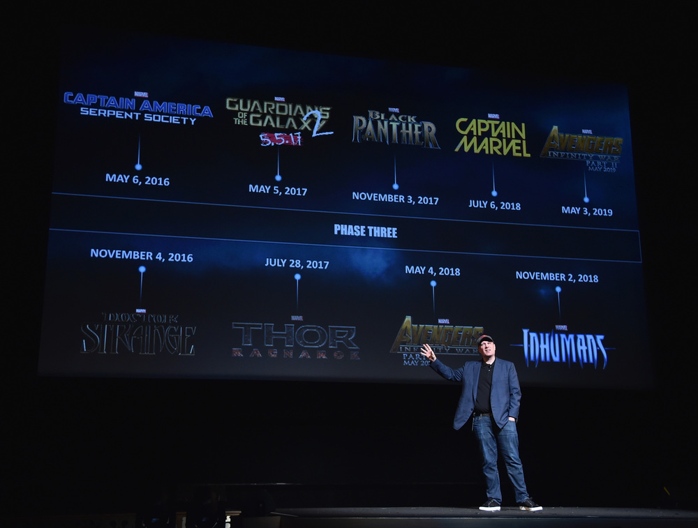 Marvel movies release dates
