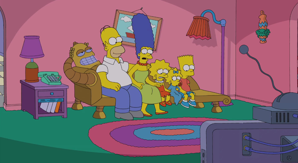 the-simpsons-and-futurama-crossover-couch-gag