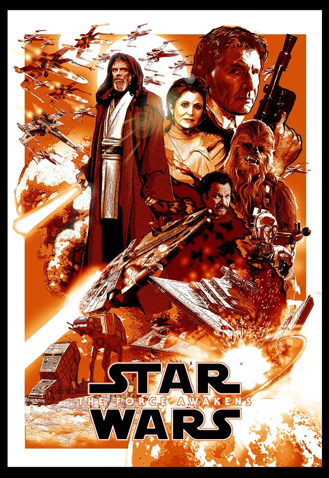 Star Wars The Force Awakens Fan Made Poster