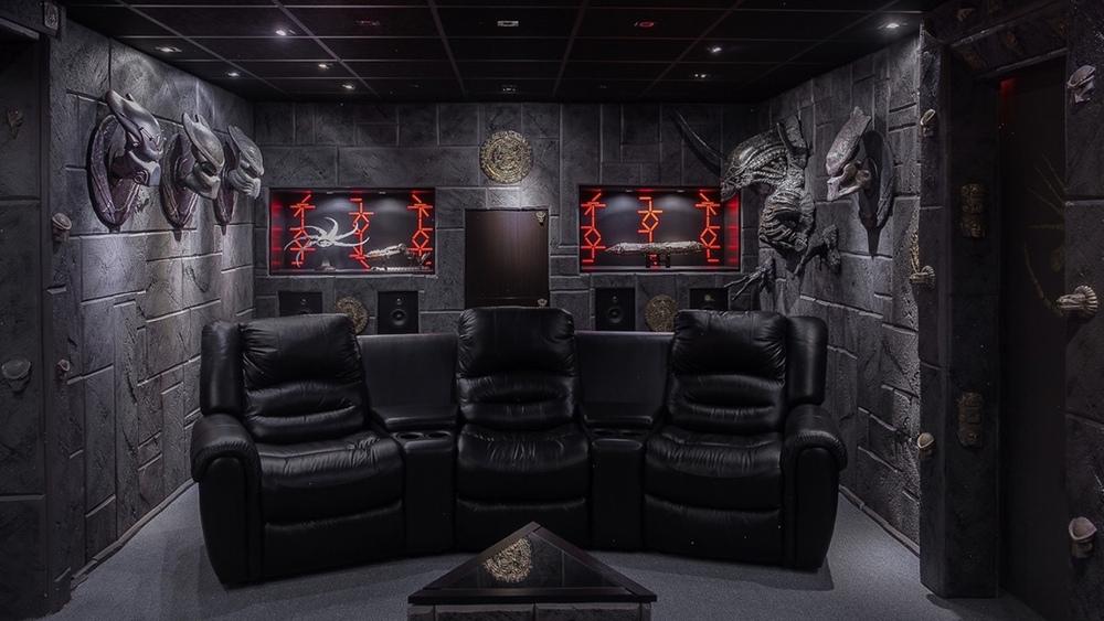 Insane Predator Themed House For Sale Geektyrant