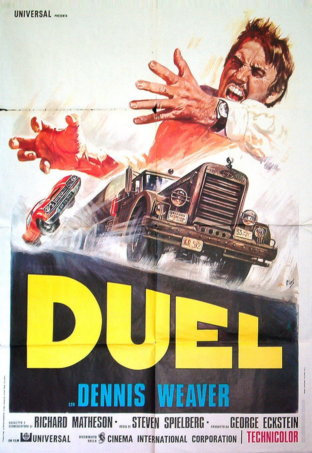 lewis punton animation duel film review fig 1 duel poster