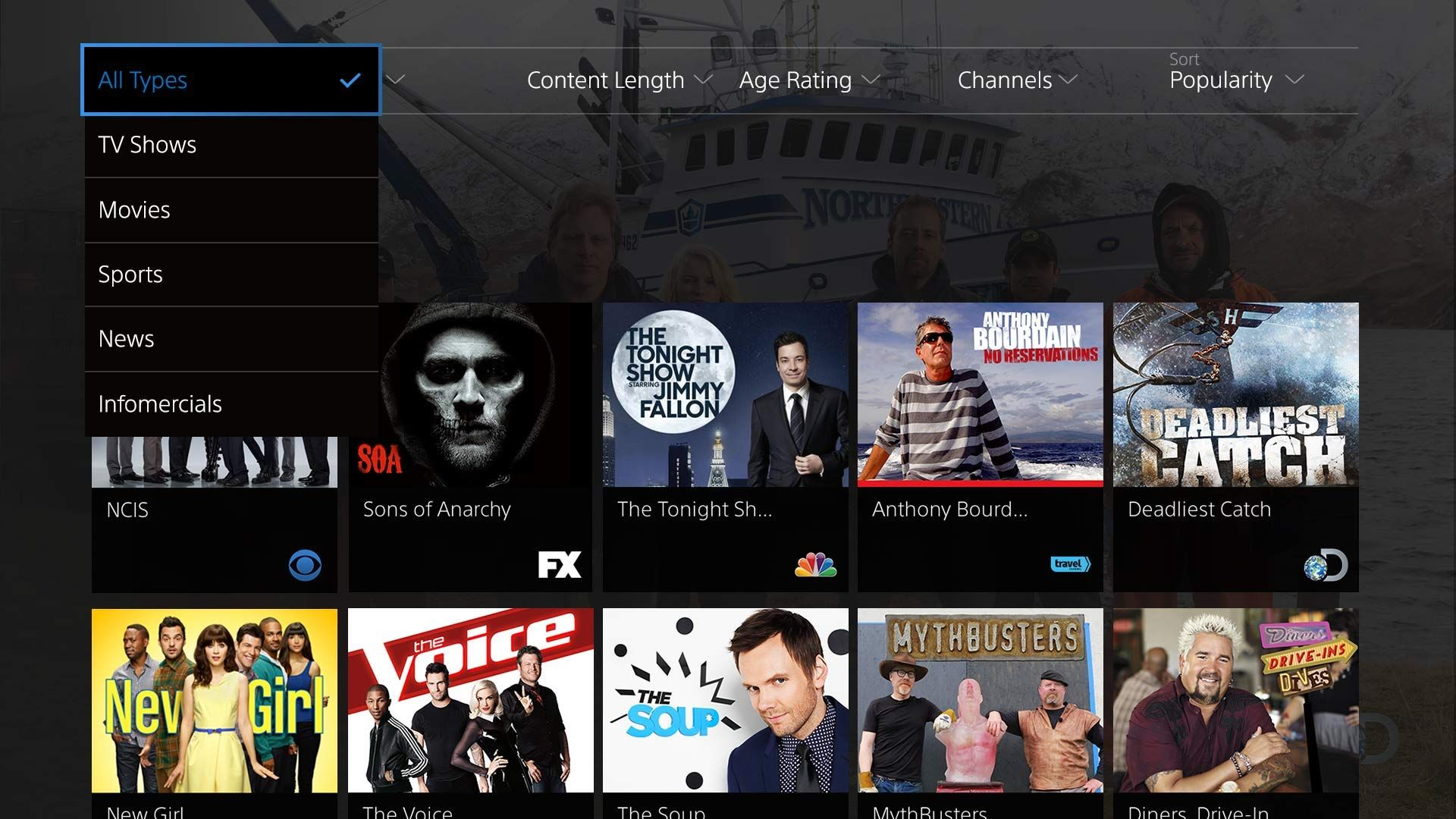 playstation vue live and on demand tv from 75 major channels