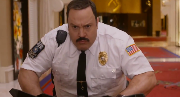 First 'Paul Blart: Mall Cop 2' Traler Revealed; Kevin James Back Again.