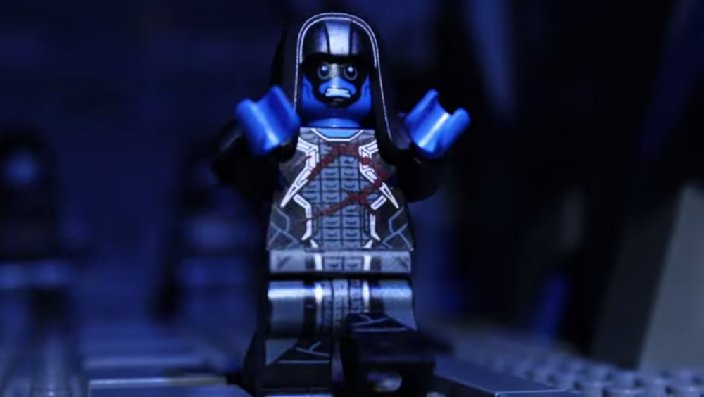 "LEGO GUARDIANS OF THE GALAXY Stop Motion Video - ""Ronan's ..."