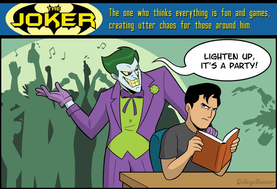 Dating it complicated collegehumor batman 3