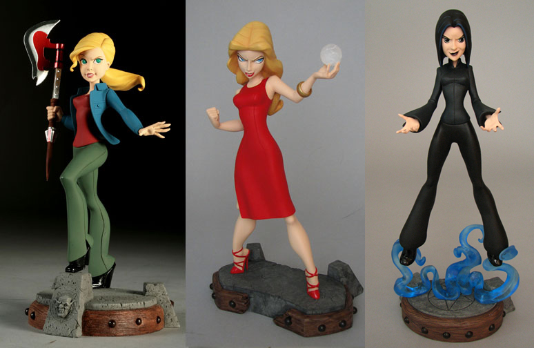 Tooned Up BUFFY THE VAMPIRE SLAYER Character Art And Maquettes