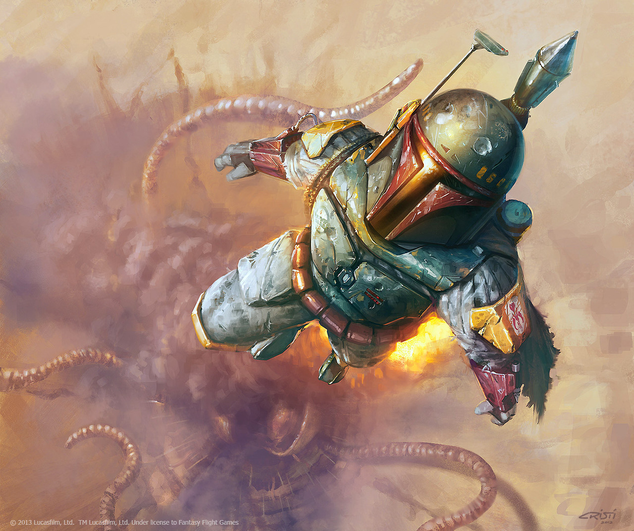 Image result for boba fett art