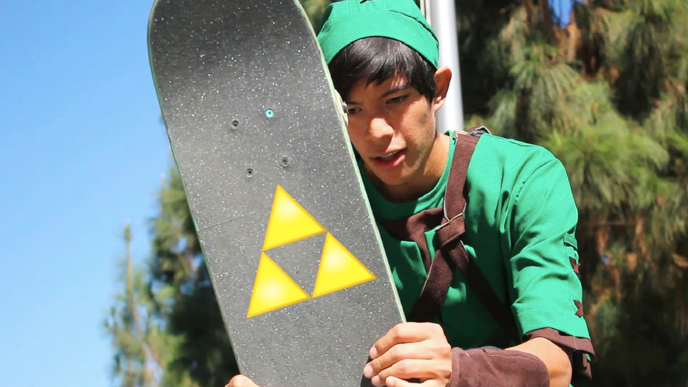 Legend of Zelda: The Skateboard of Time — Link Tears Up A ...