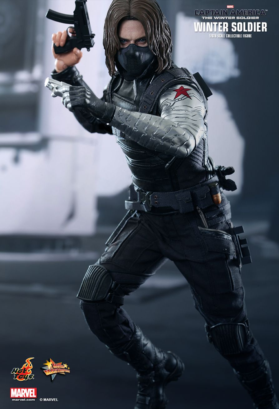 Review: Hot Toys 1/6 Scale The Winter Soldier — GeekTyrant