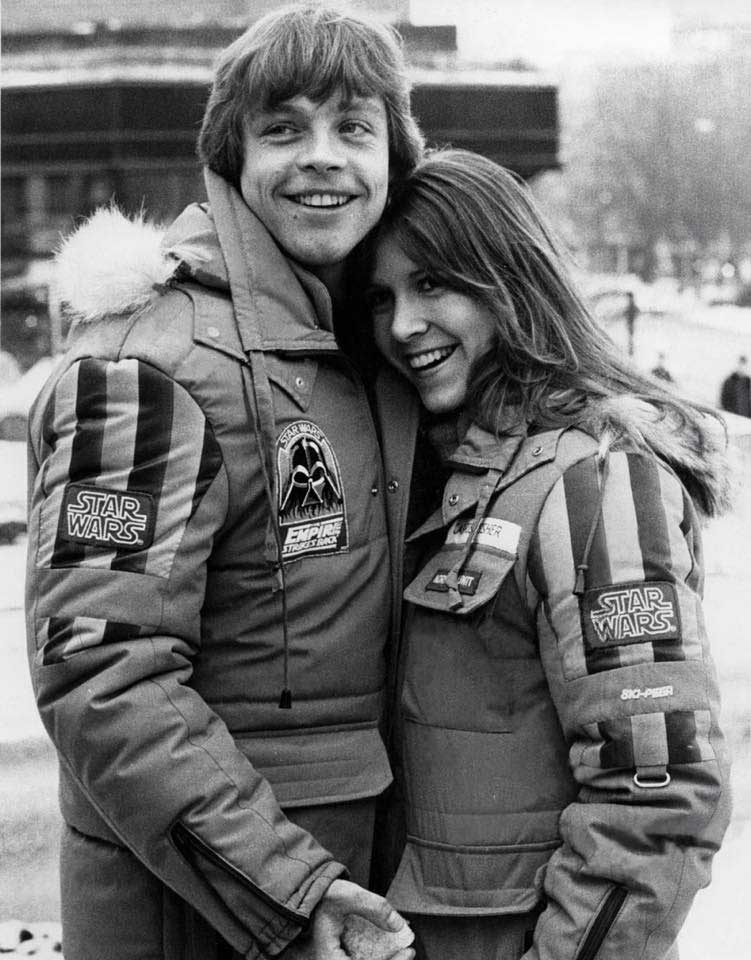 Mark hamill and carrie fisher dating. Dating for one night.