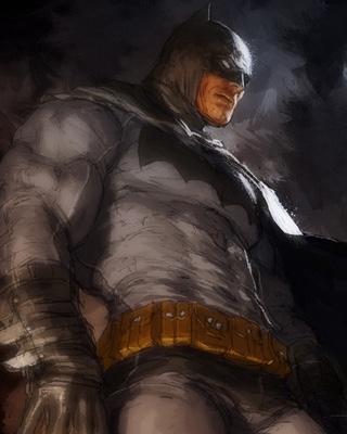 Badass Batman And Bizarro Art By Gerald Parel Geektyrant