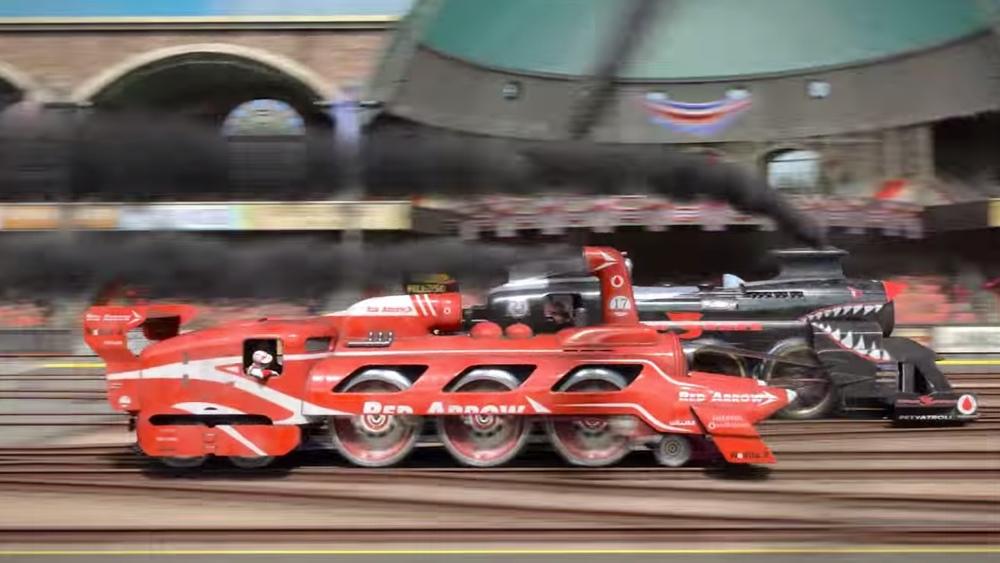 Steam Powered Car Racing