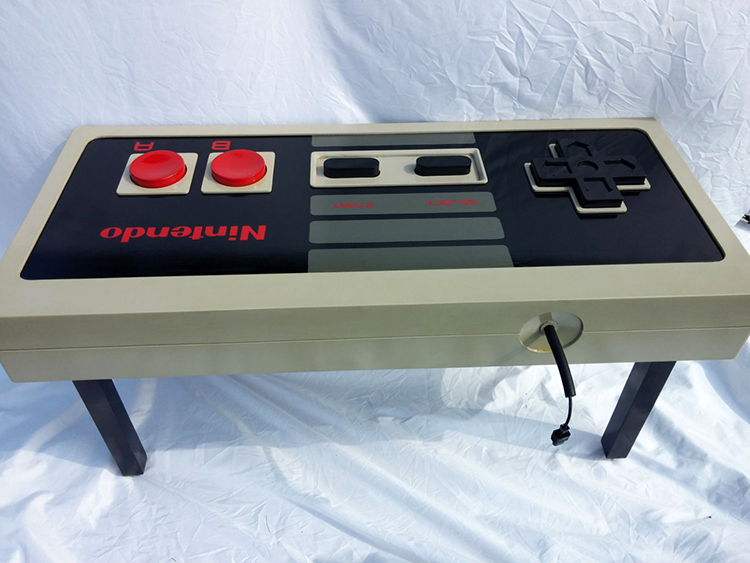 Fully Functional 1980s Style Nintendo Controller Coffee