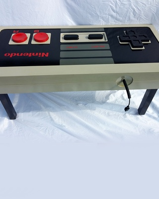 Stunning  Fully Functional s Style Nintendo Controller Coffee Table