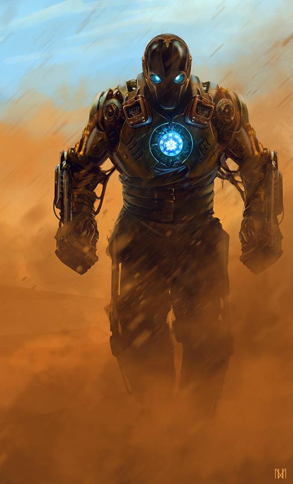 hardcore-steampunk-iron-man-character-art