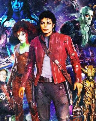 Michael jackson is star lord in 1980s guardians of the for Jackson galaxy music