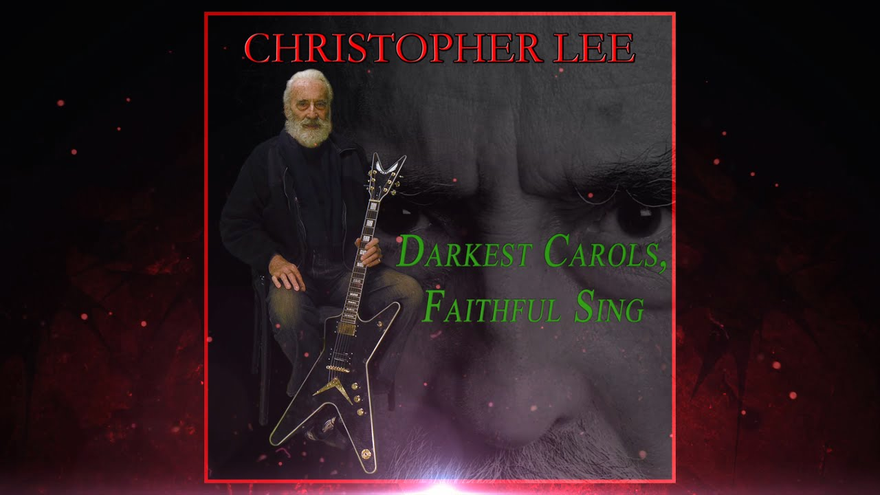 new christopher lee heavy metal christmas song darkest - Heavy Metal Christmas Music