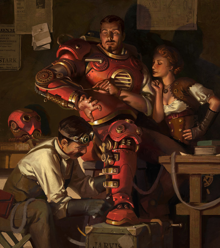smashing-steampunk-iron-man-art-by-jason-kang