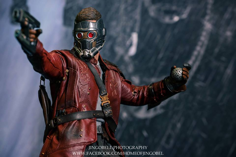 Hot Toys Guardians Of The Galaxy Star Lord Action Figure Photos