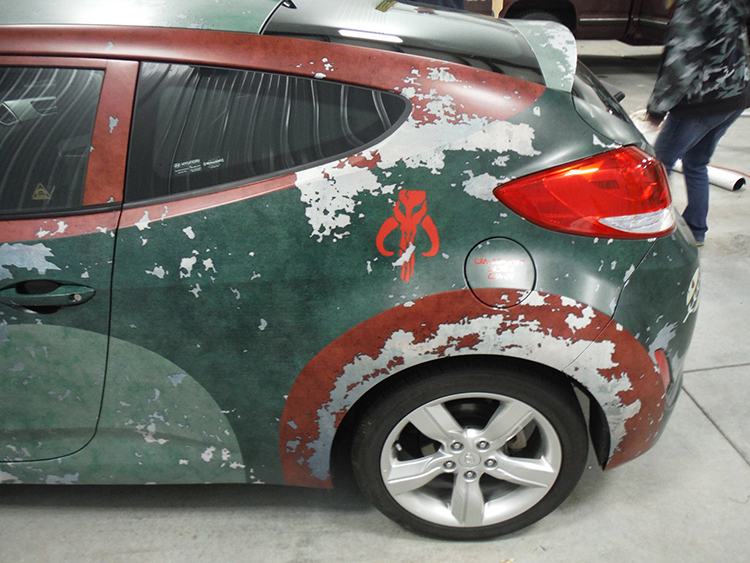 Boba Fett Themed Star Wars Car Geektyrant