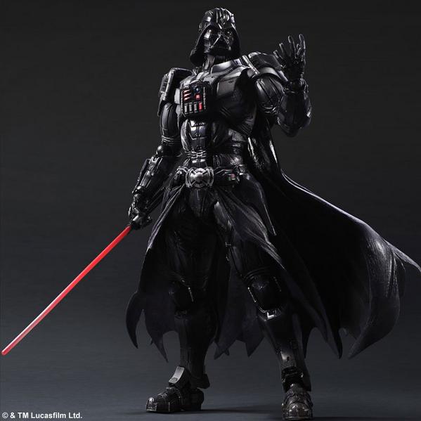 Darth Vader Variant Action Figure With Radical Lightsaber