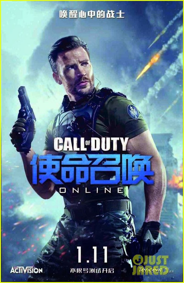 chris evans stars in live action call of duty trailer geektyrant. Black Bedroom Furniture Sets. Home Design Ideas
