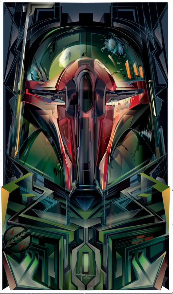 Star Wars Vector Art Print