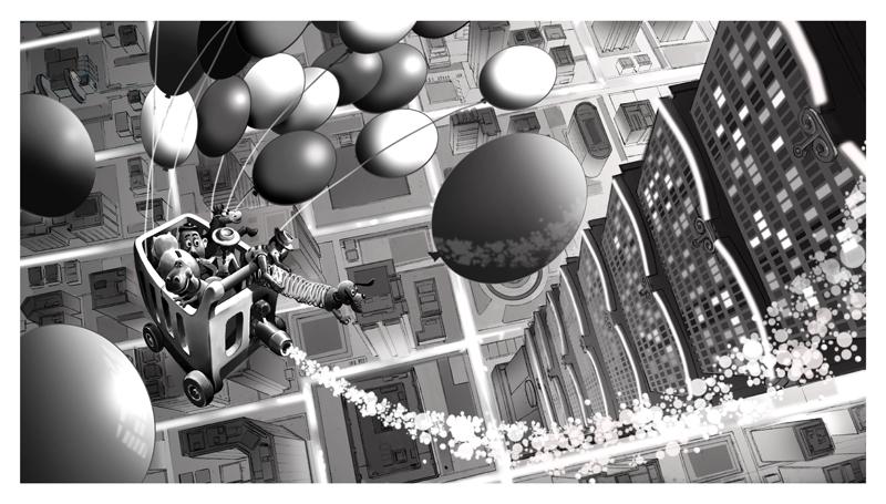 دانلود آرت بوک انیمیشن داستان اسباب بازی 3