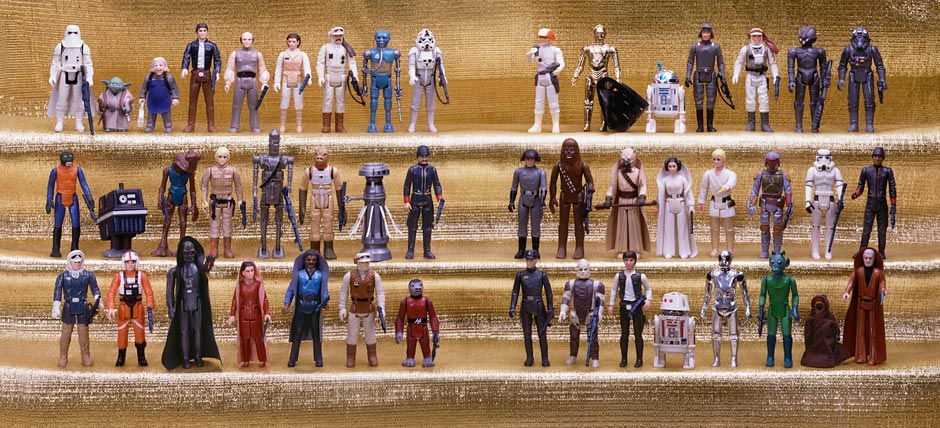 Old Star Wars Toys : Original star wars action figure product shots — geektyrant