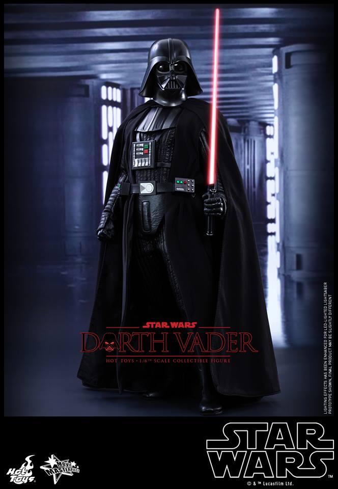 Hot Toys Star Wars Darth Vader Action Figure Geektyrant