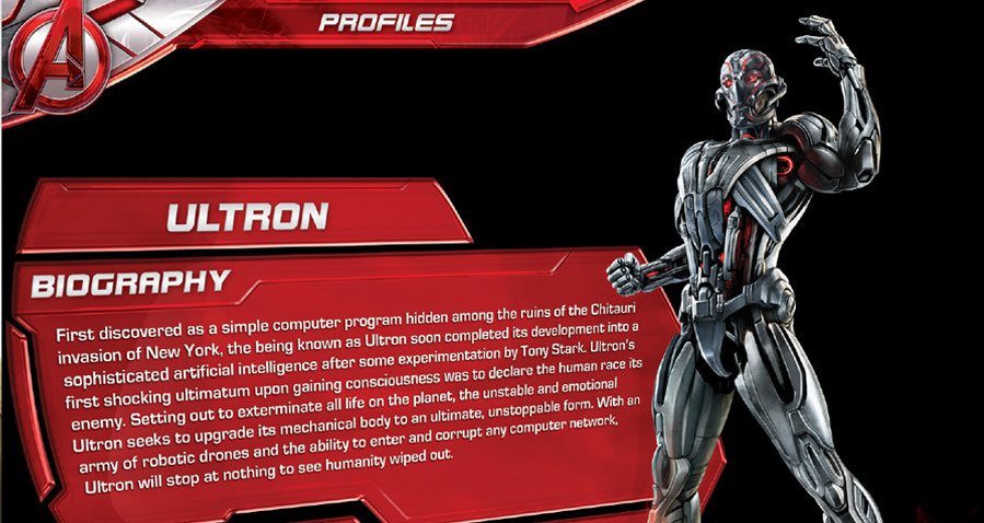 Ultron Starts Out as a