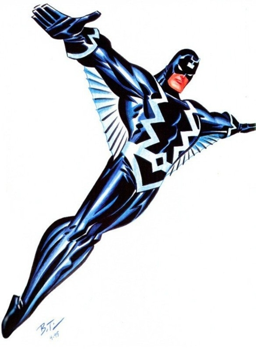 Marvel: Bruce Timm en Marvel. Bruce-Timm-Black-Bolt