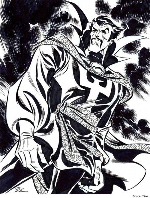 Marvel: Bruce Timm en Marvel. Bruce-Timm-Dr-Strange