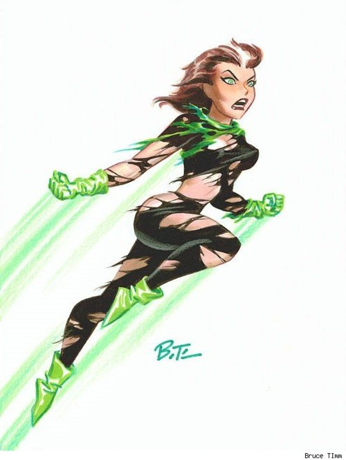 Marvel: Bruce Timm en Marvel. Bruce-Timm-Rogue