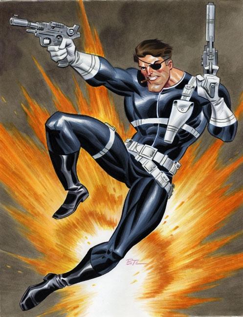 Marvel: Bruce Timm en Marvel. Bruce-Timm-Nick-Fury