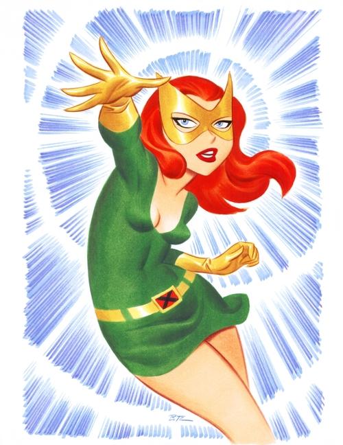 Marvel: Bruce Timm en Marvel. Marvel+Girl+-+Bruce+Timm