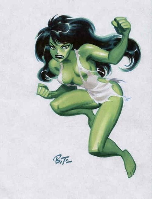 Marvel: Bruce Timm en Marvel. E132bd4fd090e155fe7f8570b4149275