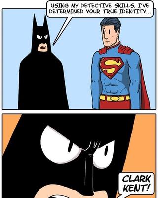 Batman Vs Superman Quot True Identity Quot Comic Strip Geektyrant