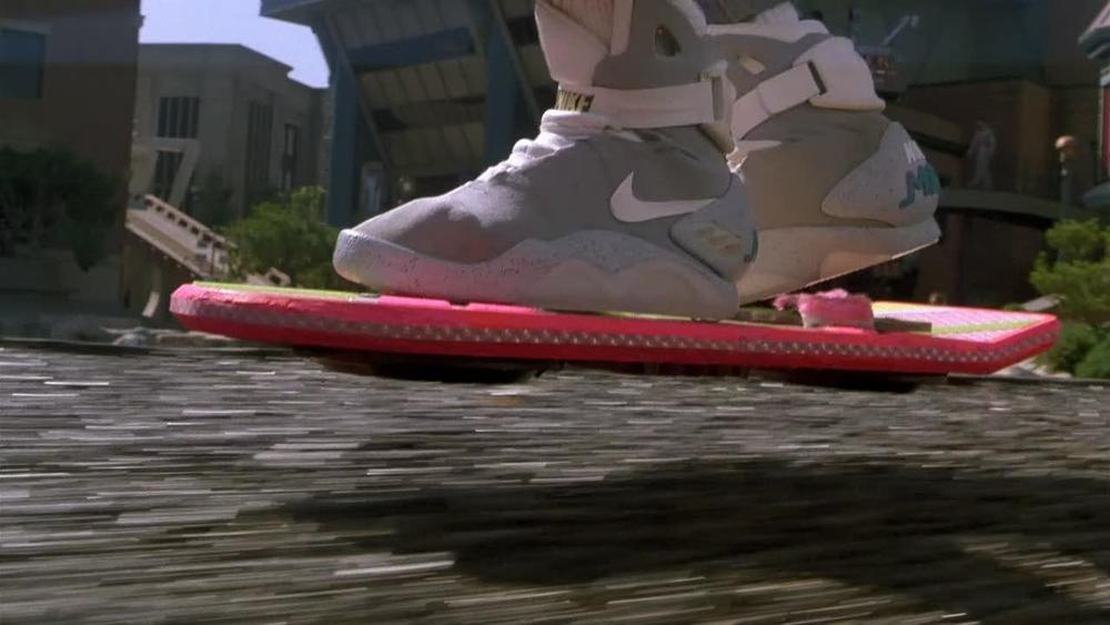 We Might See BACK TO THE FUTURE II Nike Mags with Power Laces this Year!