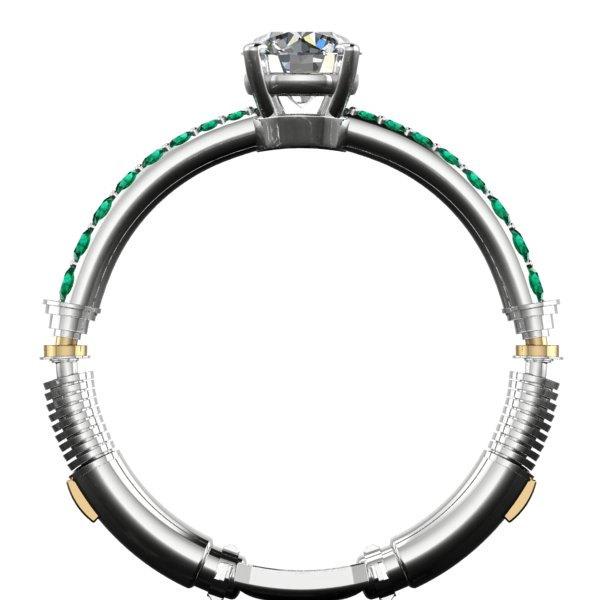 Star Wars Inspired Lightsaber Engagement Ring Geektyrant