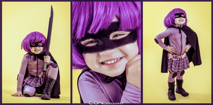 Hit Girl Cosplay by  Cosplay Princess  — Costume by  Courtney Leigh Creations  — Photo by  CONography  — Via:  Geek X Girls