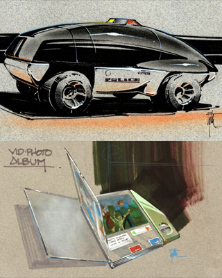 Never Before Seen Back To The Future Part Ii Concept Art