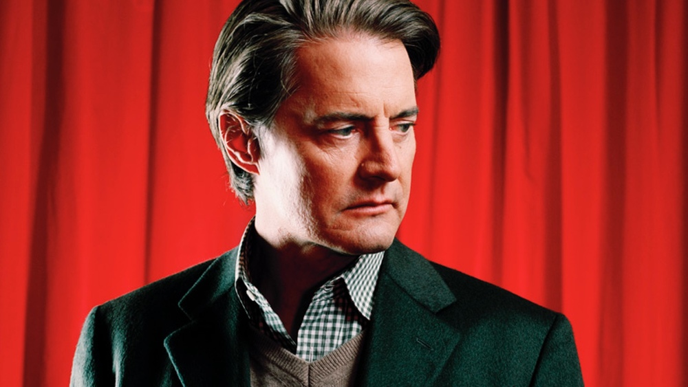 Who was kyle maclachlan dating during twin peaks