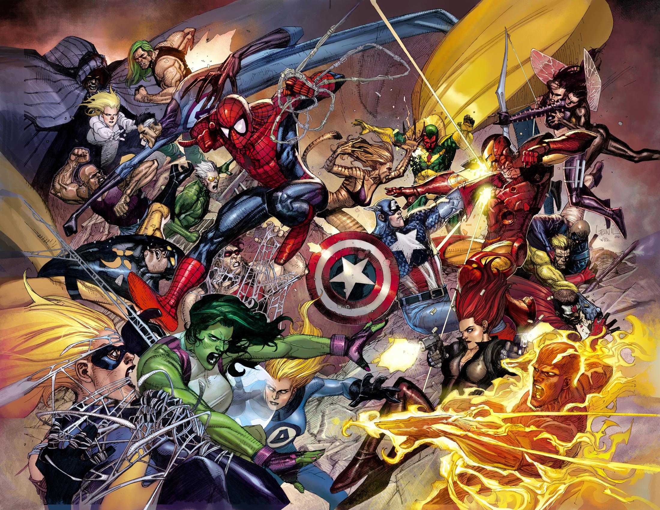 Rumor Big Spoilers For Marvels Civil War Infinity War And