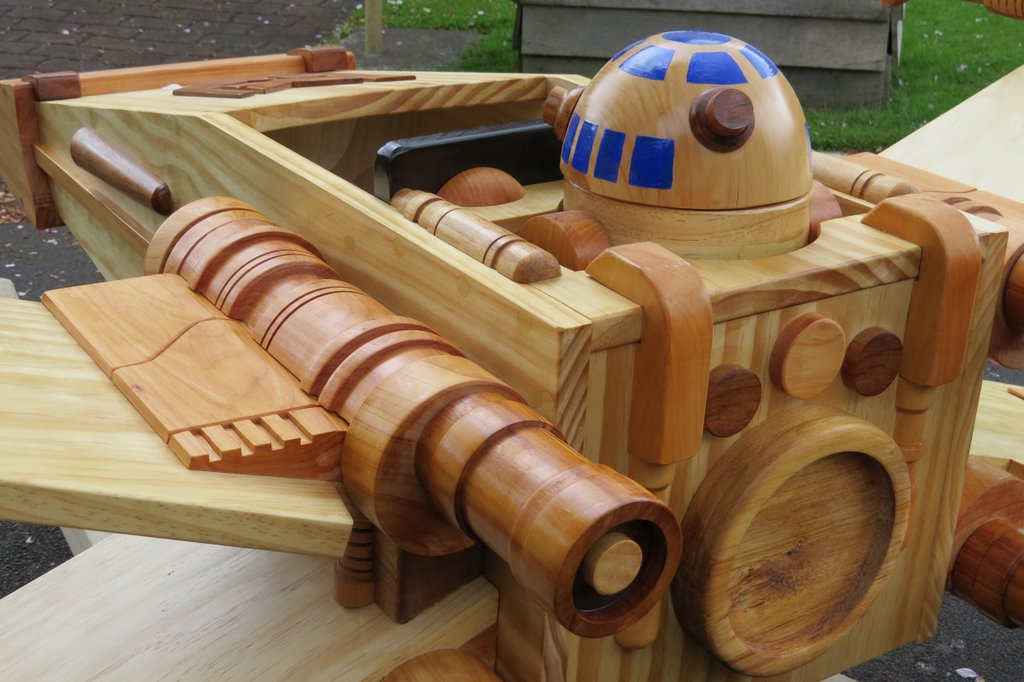 The Force Is Strong With This X Wing Baby Rocker Geektyrant